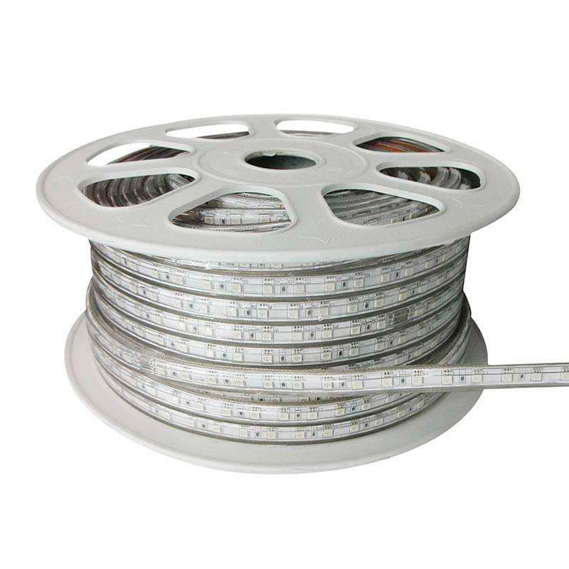 Tira LED 220V SMD5050 High Power, 60Led/m, RGB, carrete 50 metros